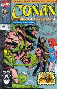 Cover Thumbnail for Conan the Barbarian (Marvel, 1970 series) #243 [Direct Edition]