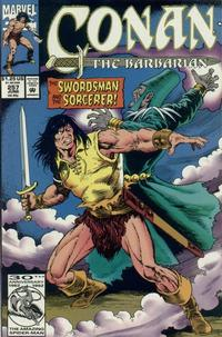 Cover Thumbnail for Conan the Barbarian (Marvel, 1970 series) #257 [Direct Edition]