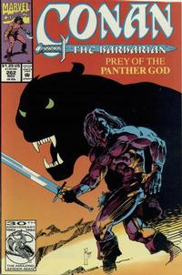 Cover Thumbnail for Conan the Barbarian (Marvel, 1970 series) #262 [Direct Edition]