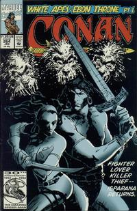 Cover Thumbnail for Conan the Barbarian (Marvel, 1970 series) #264 [Direct Edition]