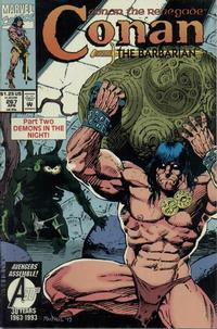 Cover Thumbnail for Conan the Barbarian (Marvel, 1970 series) #267 [Direct Edition]