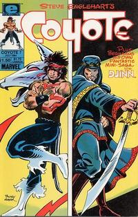 Cover Thumbnail for Coyote (Marvel, 1983 series) #7