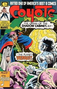 Cover Thumbnail for Coyote (Marvel, 1983 series) #9