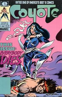 Cover Thumbnail for Coyote (Marvel, 1983 series) #10