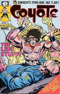 Cover for Coyote (Marvel, 1983 series) #15
