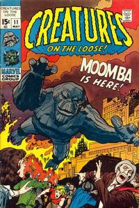 Cover Thumbnail for Creatures on the Loose (Marvel, 1971 series) #11