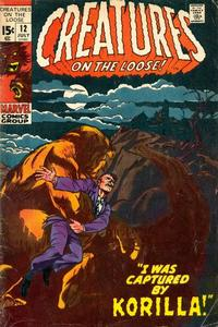 Cover Thumbnail for Creatures on the Loose (Marvel, 1971 series) #12