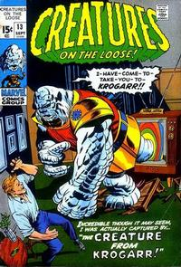Cover Thumbnail for Creatures on the Loose (Marvel, 1971 series) #13