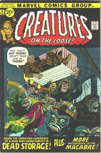 Cover Thumbnail for Creatures on the Loose (Marvel, 1971 series) #14