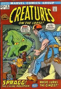 Cover Thumbnail for Creatures on the Loose (Marvel, 1971 series) #15