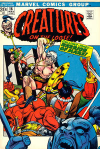 Cover Thumbnail for Creatures on the Loose (Marvel, 1971 series) #16