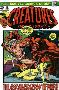 Cover Thumbnail for Creatures on the Loose (Marvel, 1971 series) #19