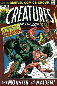 Cover Thumbnail for Creatures on the Loose (Marvel, 1971 series) #20