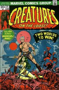 Cover Thumbnail for Creatures on the Loose (Marvel, 1971 series) #21