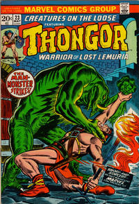 Cover Thumbnail for Creatures on the Loose (Marvel, 1971 series) #23