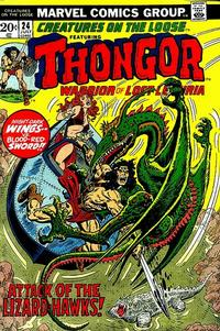 Cover Thumbnail for Creatures on the Loose (Marvel, 1971 series) #24