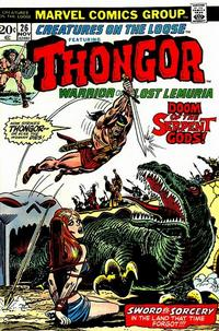 Cover Thumbnail for Creatures on the Loose (Marvel, 1971 series) #26