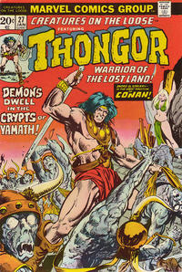 Cover Thumbnail for Creatures on the Loose (Marvel, 1971 series) #27