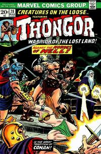 Cover Thumbnail for Creatures on the Loose (Marvel, 1971 series) #28