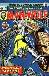 Cover Thumbnail for Creatures on the Loose (Marvel, 1971 series) #34 [Regular Edition]