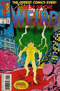 Cover Thumbnail for Curse of the Weird (Marvel, 1993 series) #1