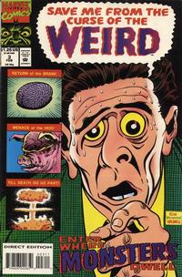 Cover Thumbnail for Curse of the Weird (Marvel, 1993 series) #3