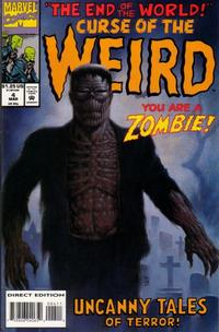 Cover Thumbnail for Curse of the Weird (Marvel, 1993 series) #4