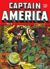 Cover Thumbnail for Captain America Comics (Marvel, 1941 series) #2