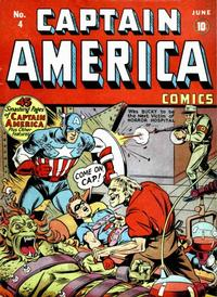 Cover Thumbnail for Captain America Comics (Marvel, 1941 series) #4