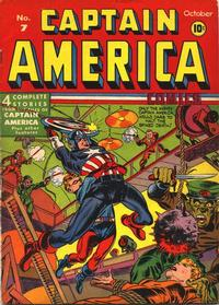 Cover Thumbnail for Captain America Comics (Marvel, 1941 series) #7