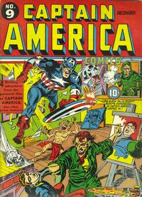 Cover Thumbnail for Captain America Comics (Marvel, 1941 series) #9