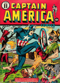 Cover Thumbnail for Captain America Comics (Marvel, 1941 series) #11