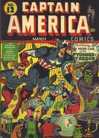 Cover Thumbnail for Captain America Comics (Marvel, 1941 series) #12