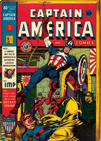 Cover Thumbnail for Captain America Comics (Marvel, 1941 series) #14
