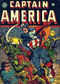 Cover Thumbnail for Captain America Comics (Marvel, 1941 series) #17