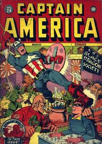 Cover Thumbnail for Captain America Comics (Marvel, 1941 series) #24