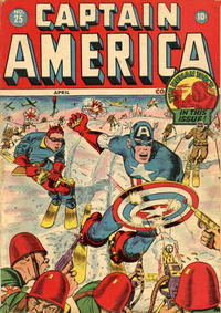 Cover Thumbnail for Captain America Comics (Marvel, 1941 series) #25