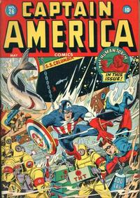 Cover Thumbnail for Captain America Comics (Marvel, 1941 series) #26