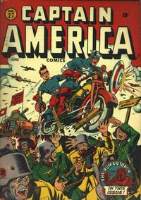 Cover Thumbnail for Captain America Comics (Marvel, 1941 series) #27