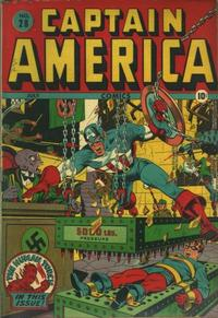 Cover Thumbnail for Captain America Comics (Marvel, 1941 series) #28