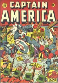 Cover Thumbnail for Captain America Comics (Marvel, 1941 series) #29