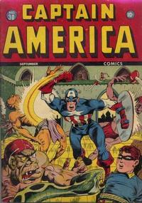 Cover Thumbnail for Captain America Comics (Marvel, 1941 series) #30