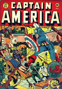 Cover Thumbnail for Captain America Comics (Marvel, 1941 series) #31