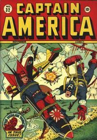 Cover Thumbnail for Captain America Comics (Marvel, 1941 series) #32