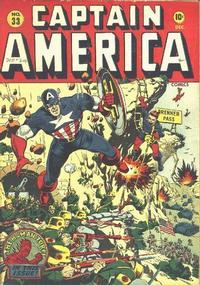 Cover Thumbnail for Captain America Comics (Marvel, 1941 series) #33