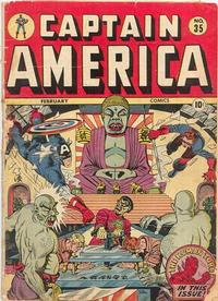 Cover Thumbnail for Captain America Comics (Marvel, 1941 series) #35
