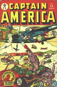 Cover Thumbnail for Captain America Comics (Marvel, 1941 series) #36