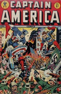 Cover Thumbnail for Captain America Comics (Marvel, 1941 series) #37