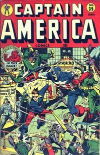 Cover Thumbnail for Captain America Comics (Marvel, 1941 series) #39