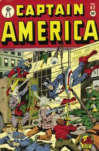 Cover Thumbnail for Captain America Comics (Marvel, 1941 series) #42